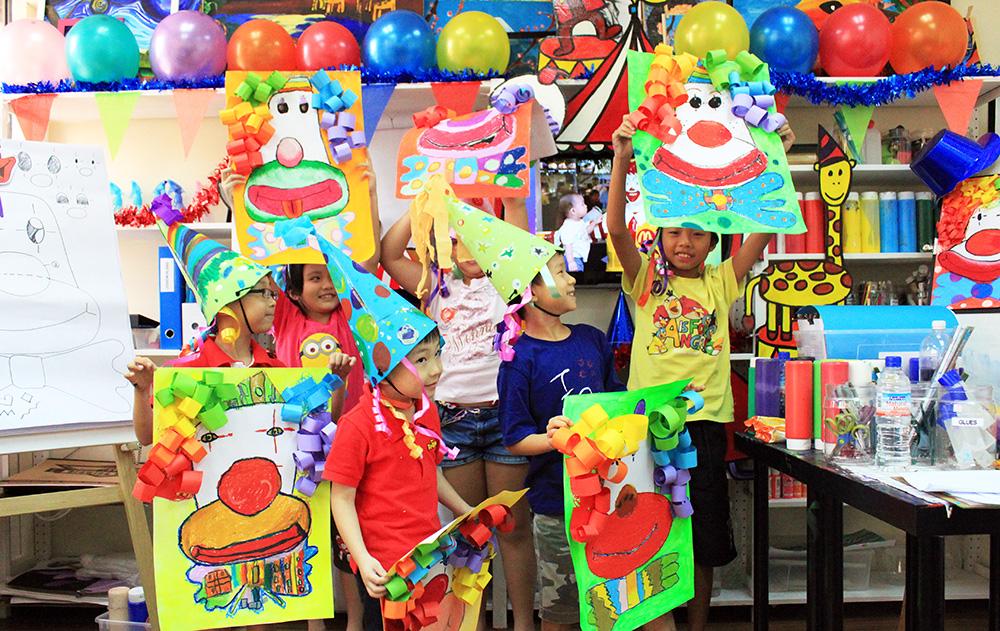 Art Classes For Kids In Jurong